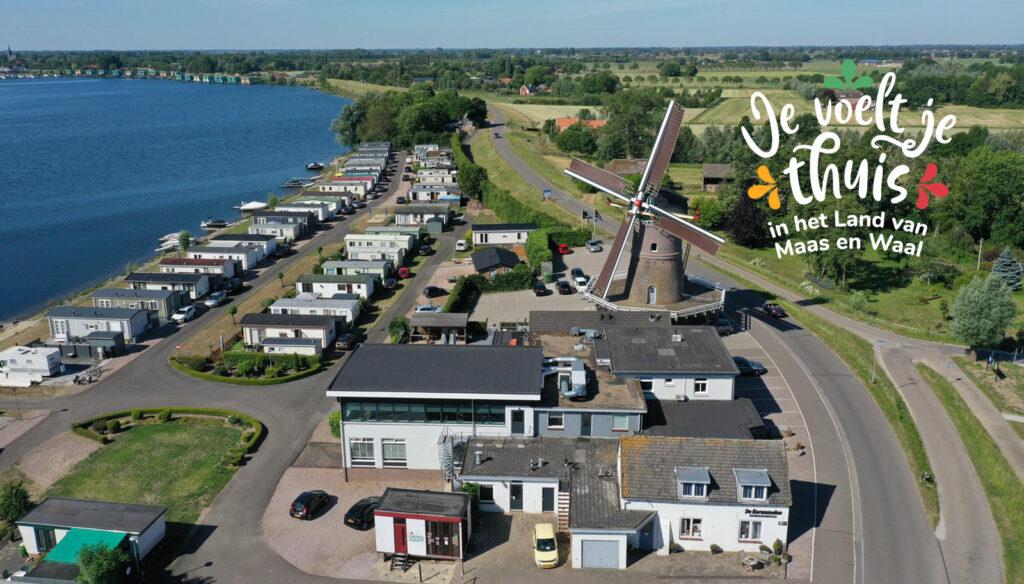 Maasbommel aan de Gouden Ham in het Land van Maas en Waal